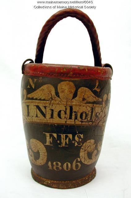 Fire Bucket, ca. 1806