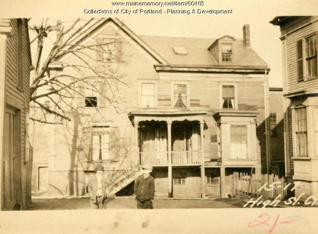 1-2 King Place, Portland, 1924
