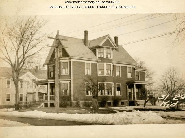 29 Kidder Street, Portland, 1924