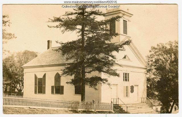 Methodist Church, Lubec, 1907