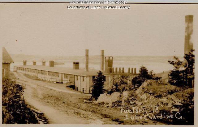 Sardine Factory B, Lubec, ca. 1915