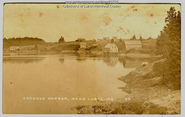 Haycock Harbor, Trescott  ca. 1912