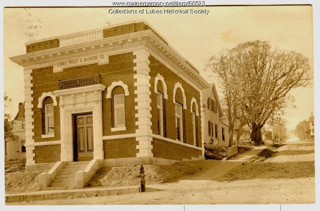 Lubec Trust and Banking, 1908
