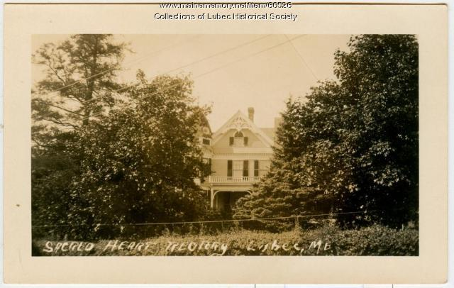 Sacred Heart Rectory, Lubec, ca. 1915
