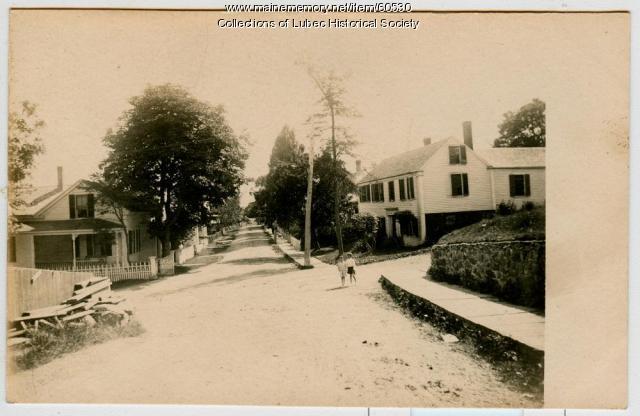 Pleasant Street, Lubec, ca. 1906