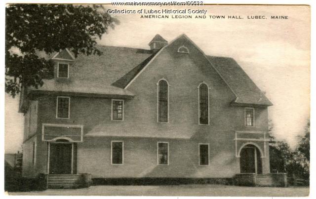 Columbian Hall, Lubec, ca. 1912
