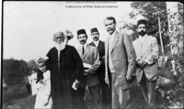 'Abdu'l-Baha,' Eliot, 1912