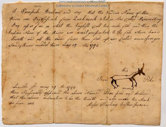 Pere Pole deposition, 1792