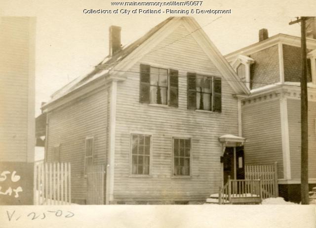 52-54 Lafayette Street, Portland, 1924