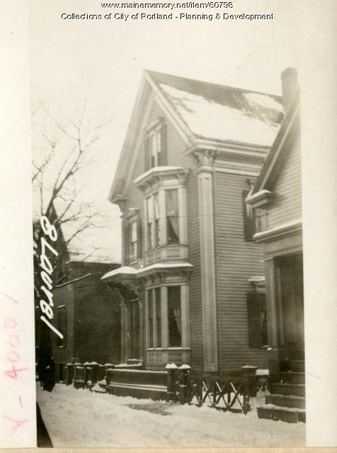 10 Laurel Street, Portland, 1924