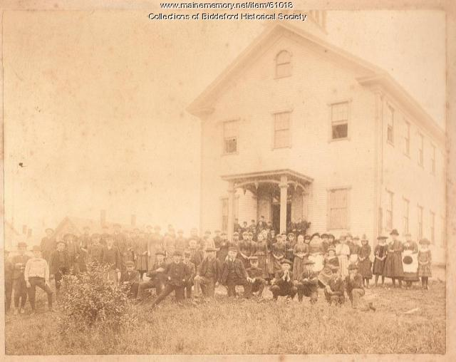 Summer Street school, Biddeford, ca. 1890