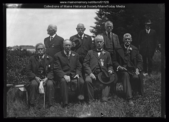 Veterans of 17th Maine, Portland, 1923