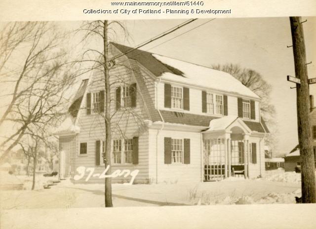 37 Longfellow Street, Portland, 1924