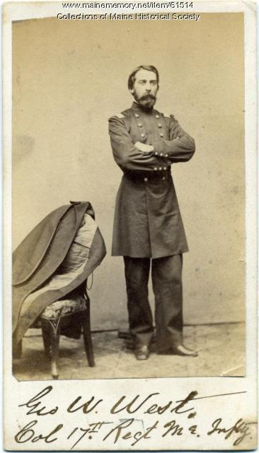 Col. George W. West, Portland, 1862