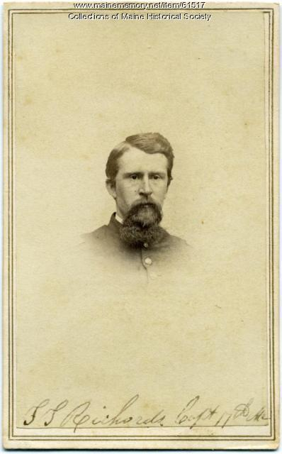 Sumner S. Richards, Saco, ca. 1863