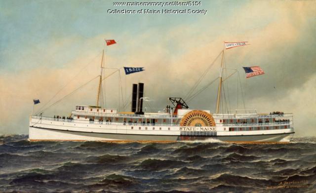S.S. State of Maine, ca. 1892