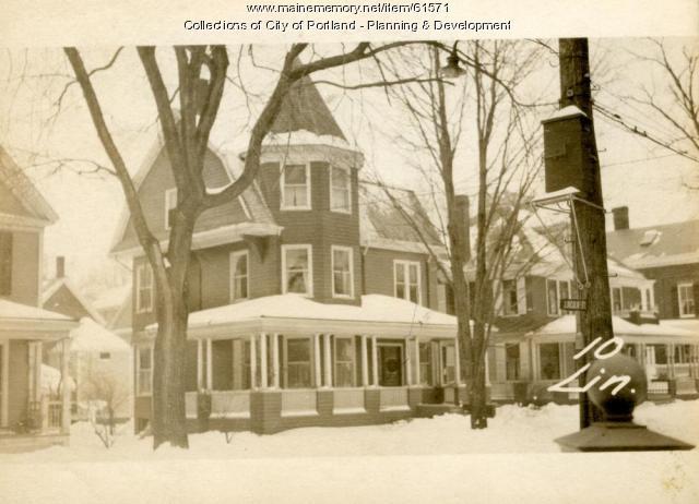 10 Lincoln Street, Portland, 1924