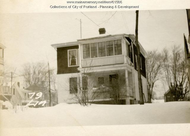 79 Lincoln Street, Portland, 1924