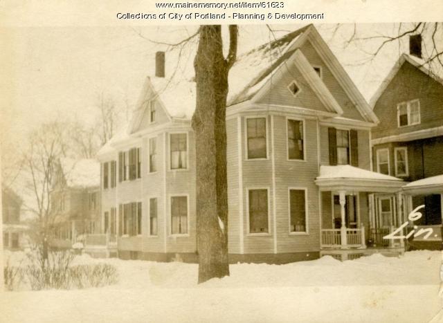 6 Lincoln Street, Portland, 1924