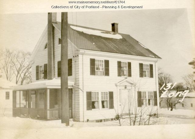145 Longfellow Street, Portland, 1924