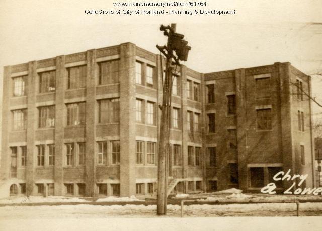 9-15 Lowell Street, Portland, 1924