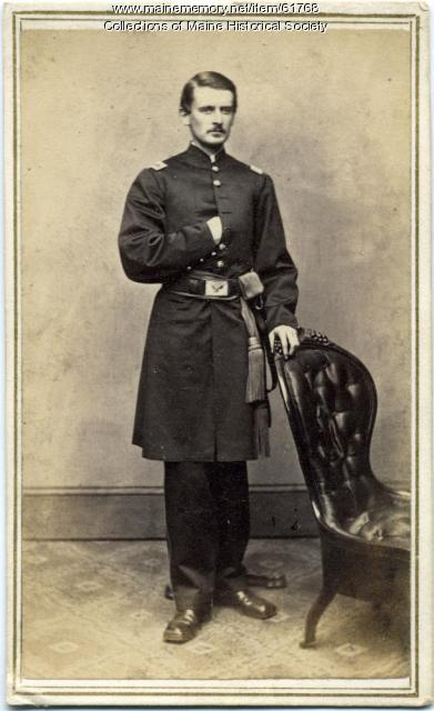 Lt. Henry L. Bartels, Portland, ca. 1863