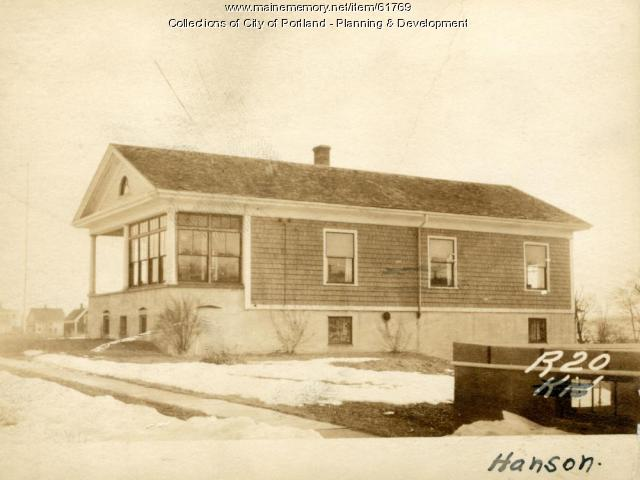18-28 Hanson Street, Portland, 1924
