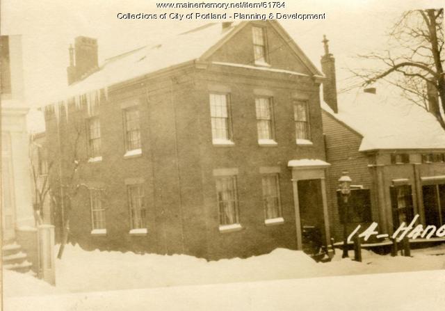 14 Hanover Street, Portland, 1924