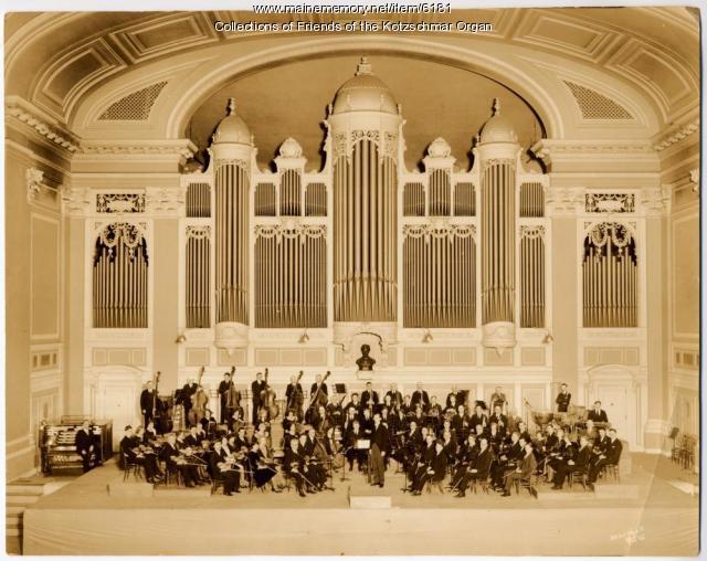 Portland Municipal Orchestra, season 1927-28