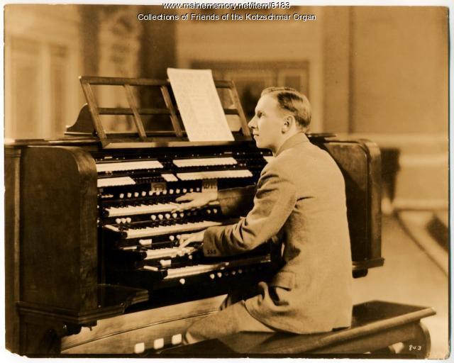 Charles Raymond Cronham, fourth municipal organist