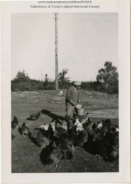 Calvin Stanley, Swan's Island, 1950