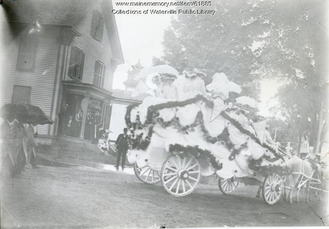 Clukey & Libby Company float, 1902