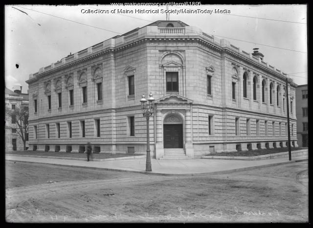 Federal Courthouse, Portland, 1911