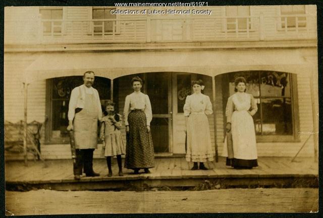 Bakery, Lubec, ca. 1908