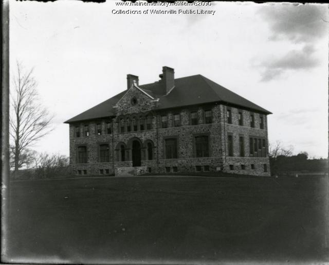 Chemical Hall, Old Colby College campus, Waterville, ca. 1935