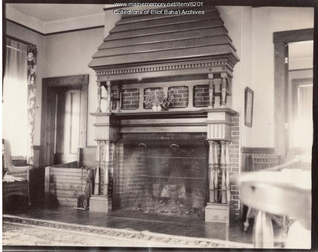 Whittier's corner, Eliot, 1890