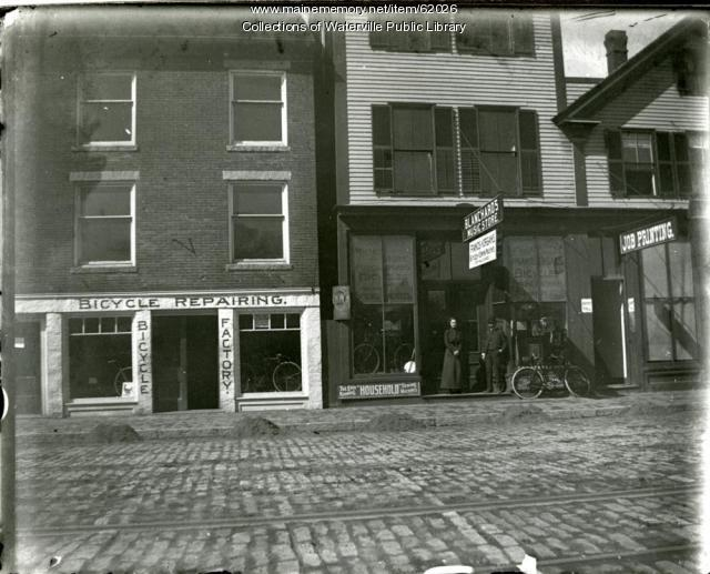 Waterville Main Street, ca. 1900