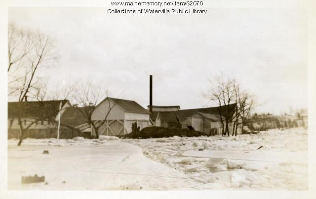 Flood remnants, Fairfield, 1936