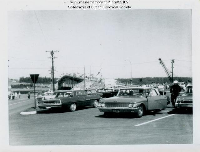 Campobello Roosevelt Bridge dedication, Lubec, 1962
