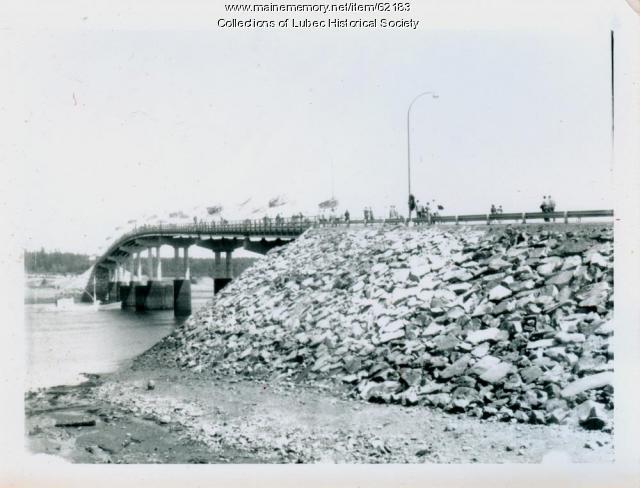 Bridge dedication, Lubec and Campobello Island, 1962