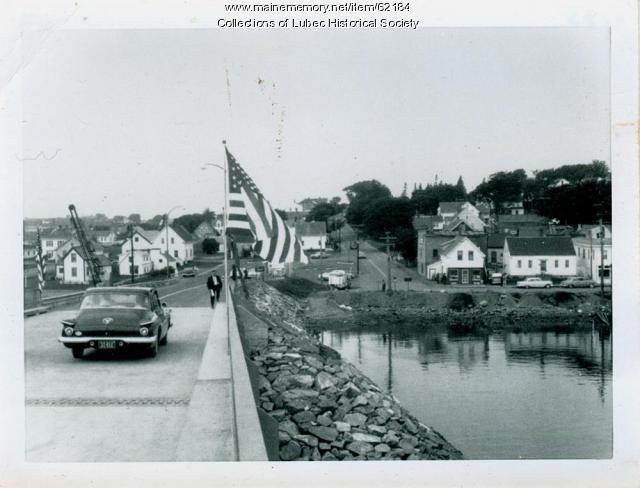 New bridge, Lubec, 1962