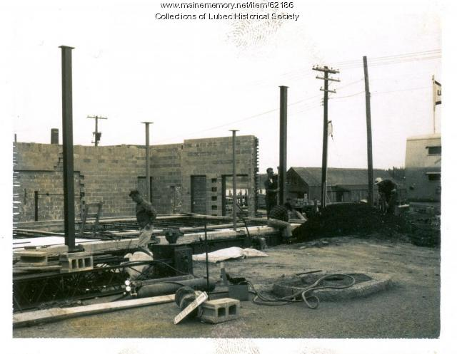 U.S. Customs and Post Office construction, Lubec, ca. 1963