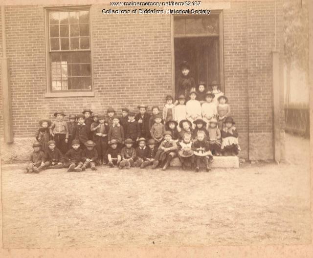 Spruce Street school, Biddeford, ca. 1900