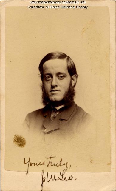 Joseph W. Lee, Calais, ca. 1863