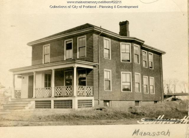 26 Warren Avenue, Portland, 1924