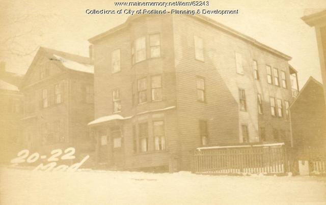 22 Madison Street, Portland, 1924