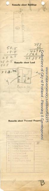 52-54 Maple Street, Portland, 1924