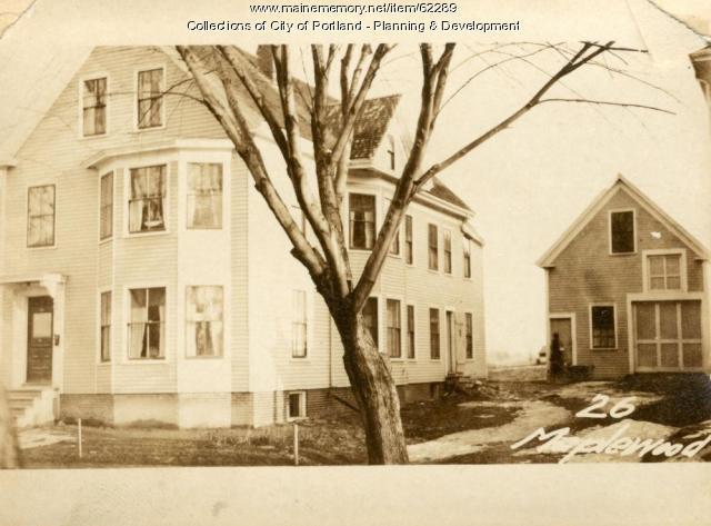 26 Maplewood Street, Portland, 1924