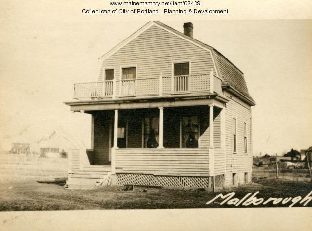 Dwelling, Marlborough Road, Portland, 1924