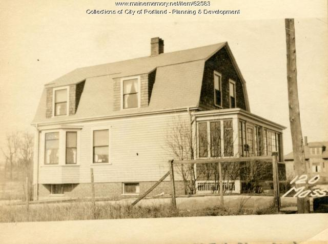 126 Massachusetts Avenue, Portland, 1924